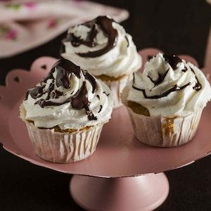 Limon Kremalı ve Çikolata Soslu Muffin Tarifi