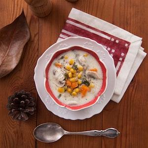 Mantarlı ve Sebzeli Çorba Tarifi