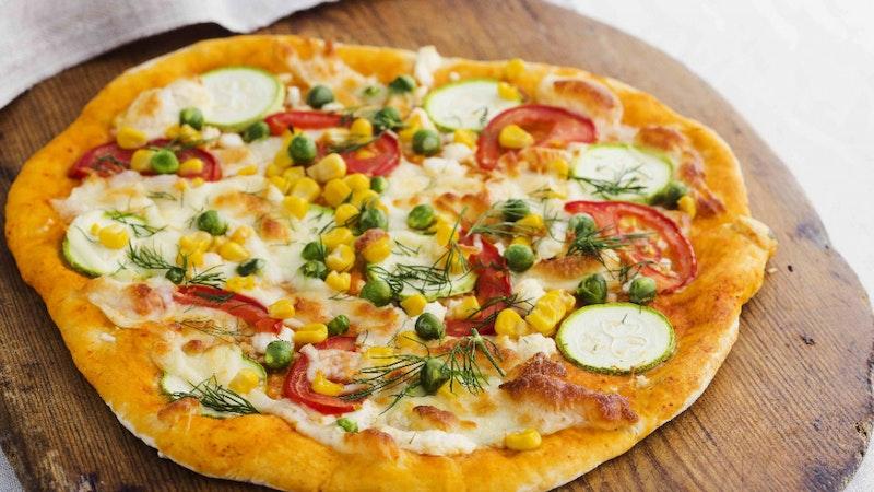 Yaz Sebzeli Pizza Tarifi