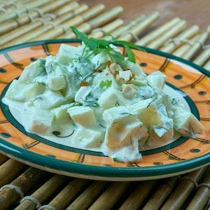 Kabaklı Yoğurtlu Salata Tarifi