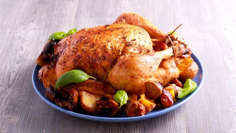 Mükemmel Pişirilmiş Fırında Tavuk Tarifi