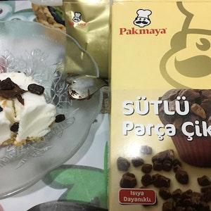 Kadayıflı Parça Çikolata Tarifi