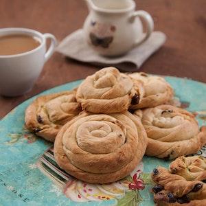 Çikolatalı ve Antepfıstıklı Çörek Tarifi