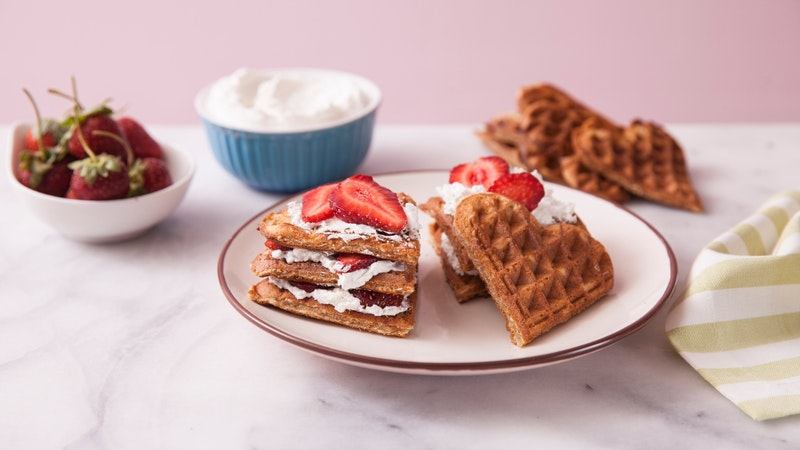 Kremalı Waffle Tarifi