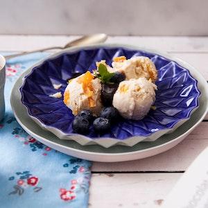 Kuru Kayısı ve Bal Bademli Dondurma Tarifi