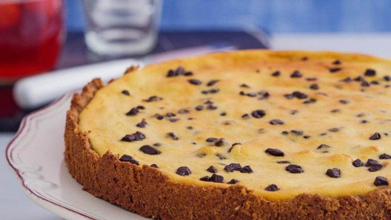 Çikolatalı ve Vanilyalı Tarçınlı Pudingli Cheesecake Tarifi