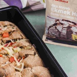 Fırında Tava Ekmek Tarifi