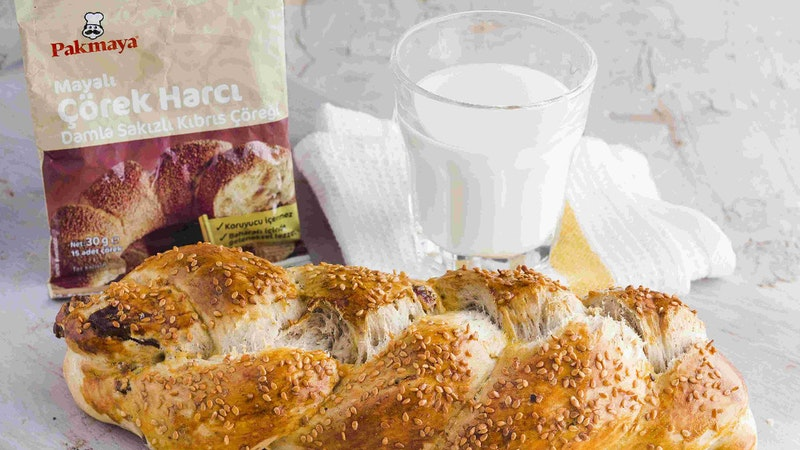 Bol Cevizli Kıbrıs Çöreği Tarifi