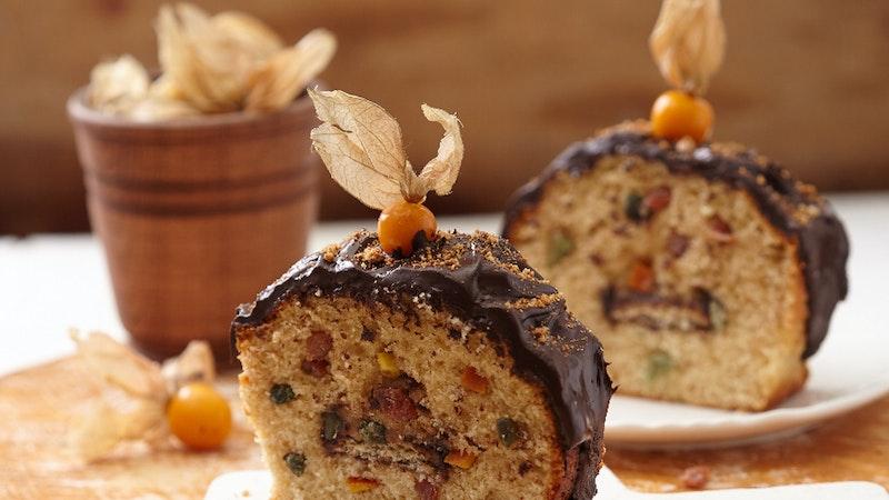 Kuru Meyveli Ve Parça Çikolatalı Kek Tarifi