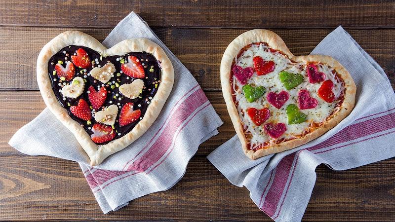 Tatlı Tuzlu Kalpli Pizza Tarifi