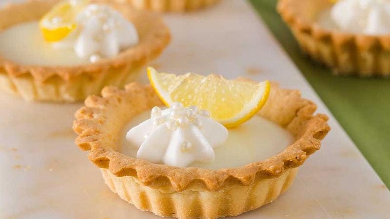 Limon Kremalı (Lemon Curd) Mini Tartlar Tarifi