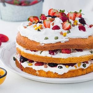 Transparan Kutlama Pastası Tarifi