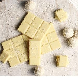 Pakmaya ile Beyaz Çikolatalı Ganaj Tarifi