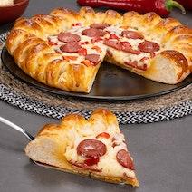 Sucuklu Pizza Poğaça Tarifi