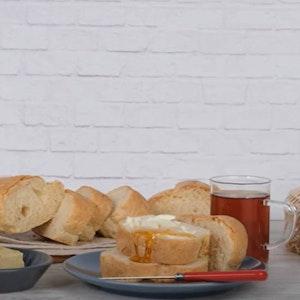 Pakmaya Yaş Maya İle Evde Somun Ekmek Tarifi