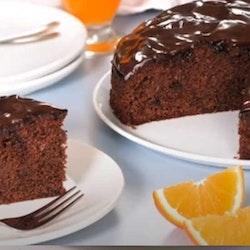 Portakallı Bitter Parça Çikolatalı Kek Tarifi