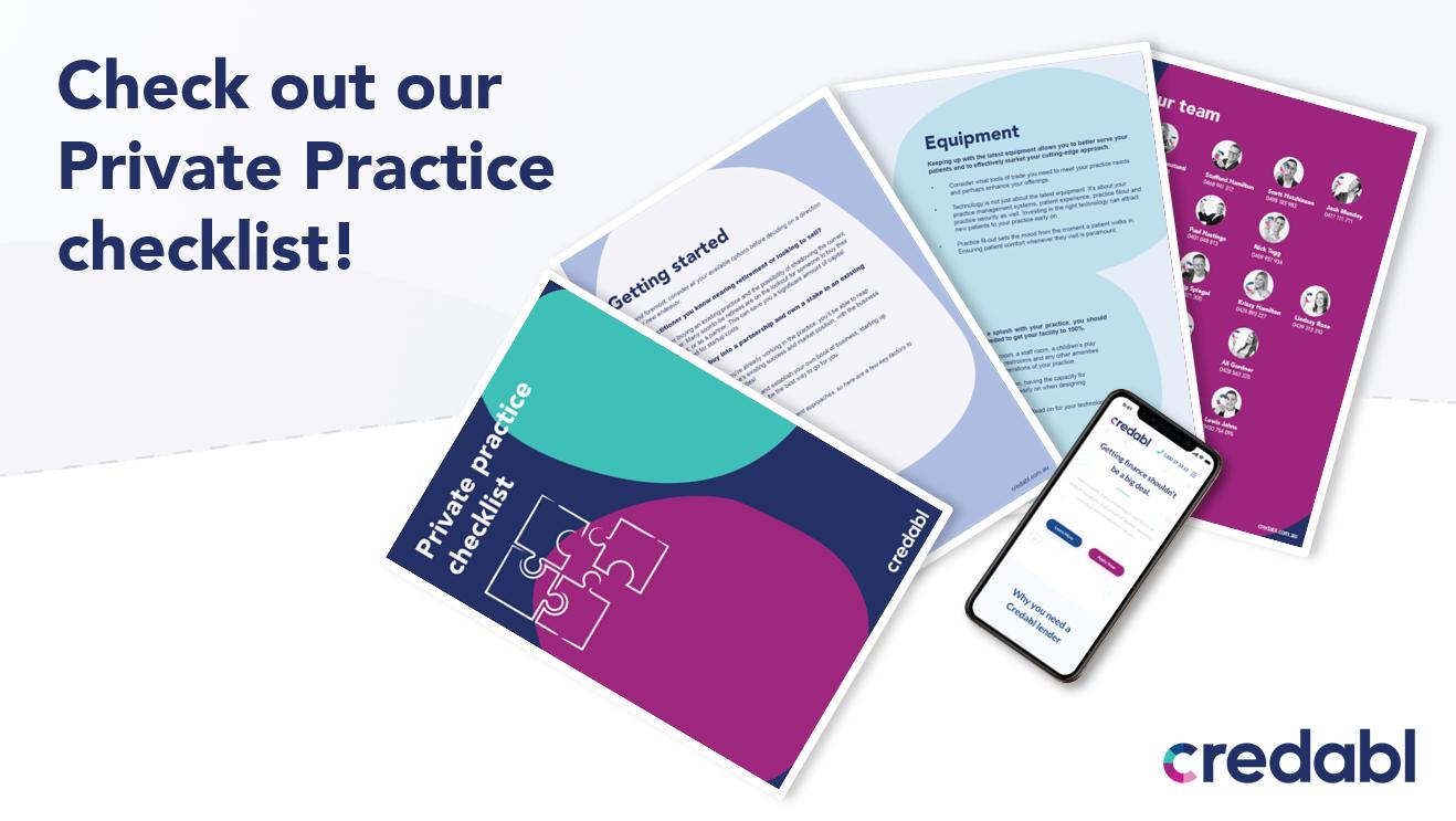 Private Practice Checklist Image