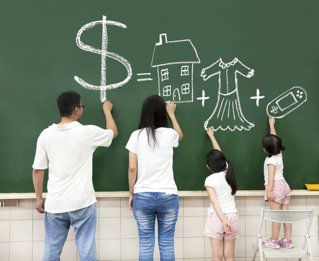 Money, Kids and Houses – in no particular order Image
