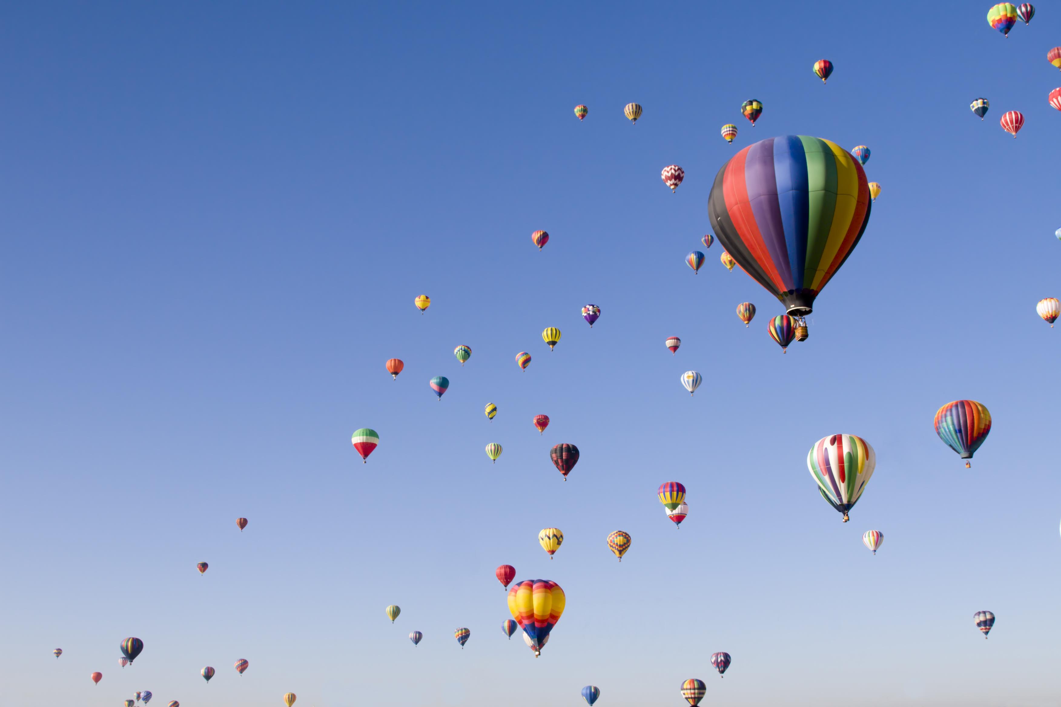 Success hot air balloons