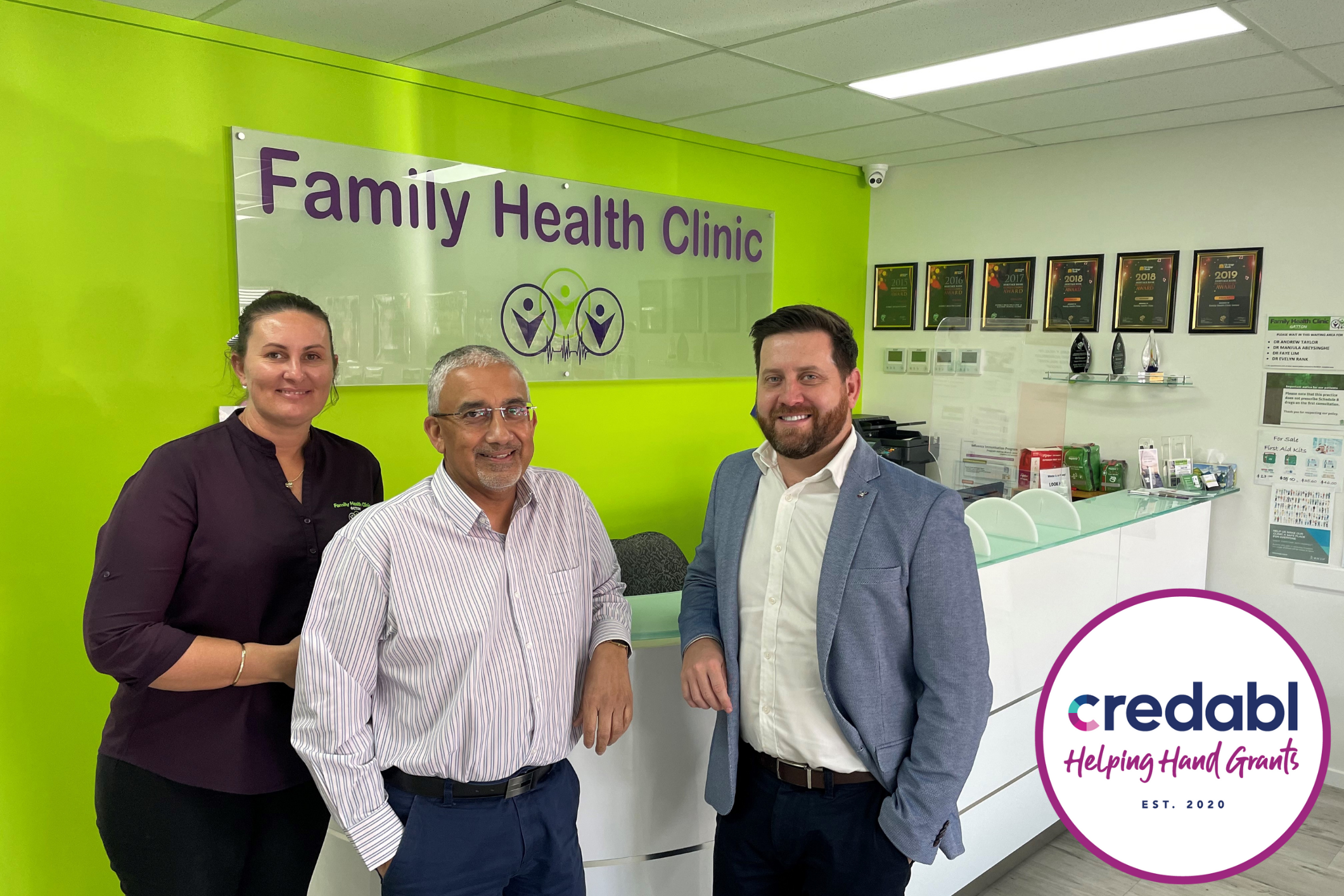Family Health Clinic Gatton uses Credabl's Helping Hand Grant for community support