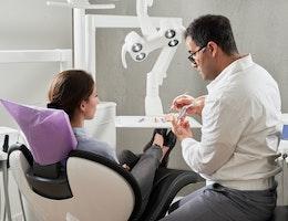 un cabinet de chirurgie dentaire