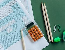 Photo représentant les impôts et taxes