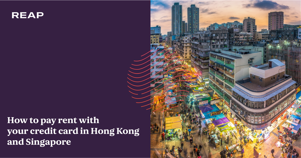 Cover Image for How to pay rent with your credit card in Hong Kong and Singapore