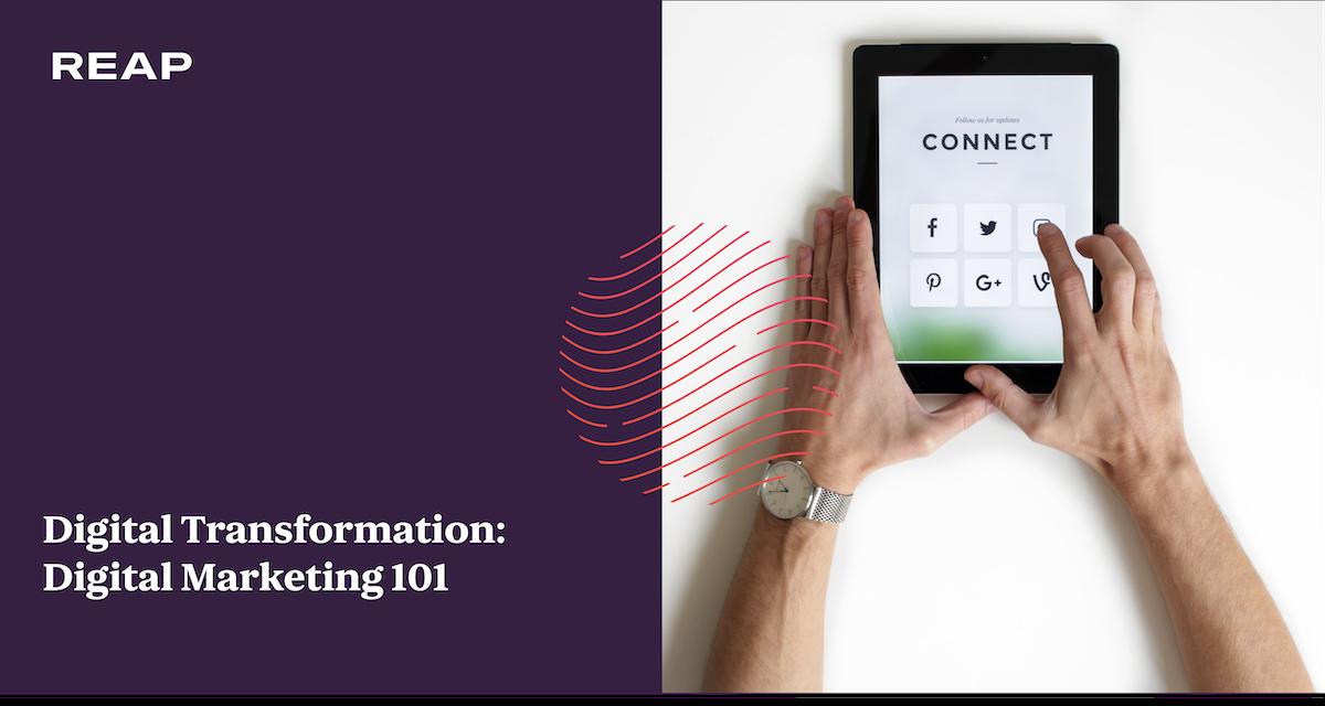 Cover Image for Digital Transformation: Digital Marketing 101