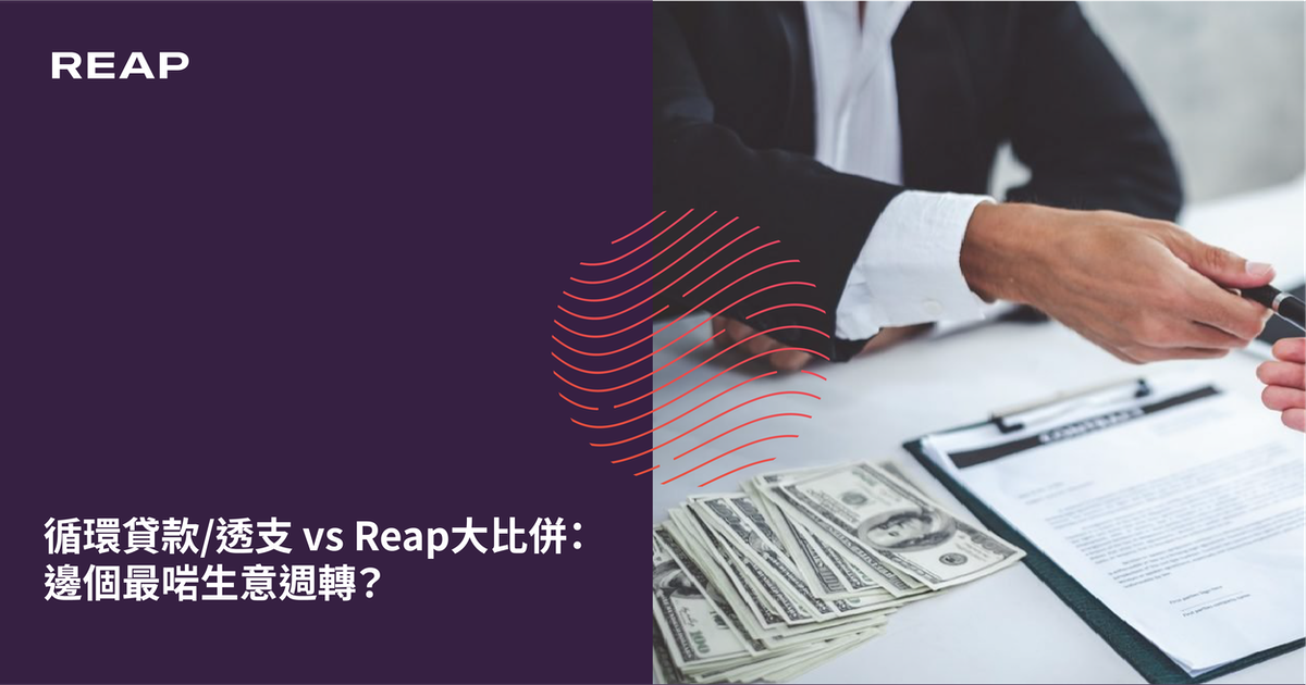 Cover Image for 循環貸款/透支 vs Reap大比併:邊個最啱生意週轉?