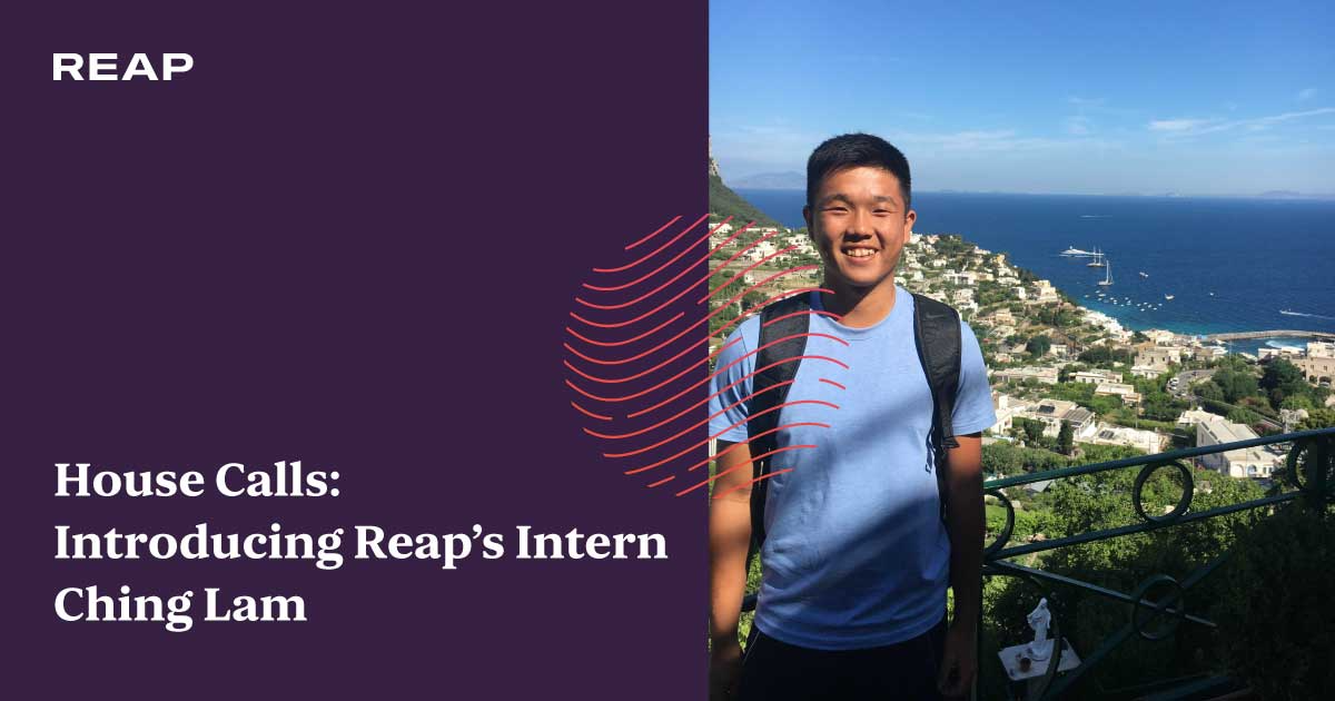 Cover Image for House Calls: Introducing Reap's Intern Ching Lam