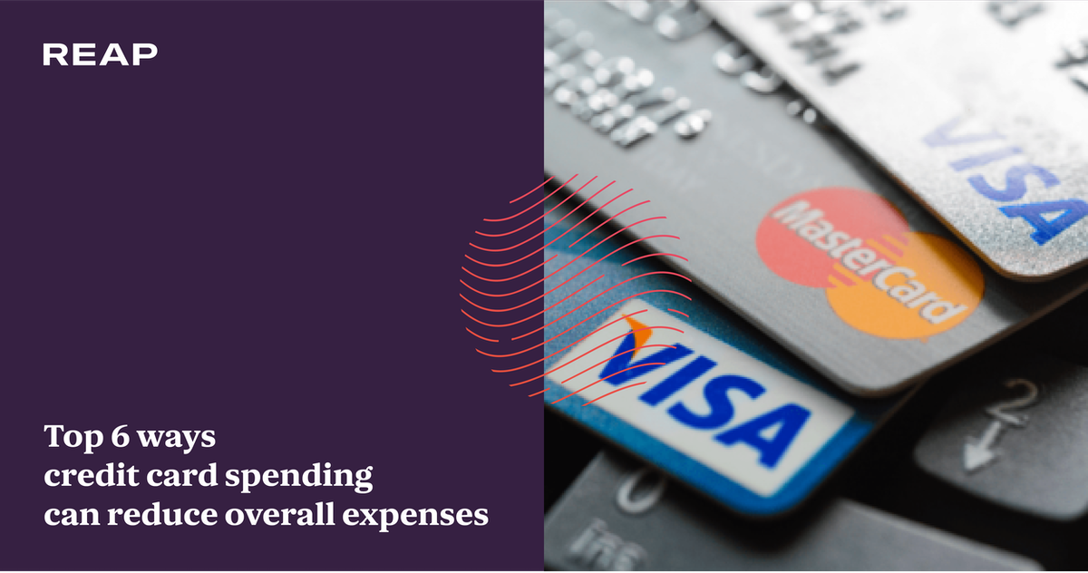 Cover Image for Top 6 ways credit card spending can reduce overall expenses