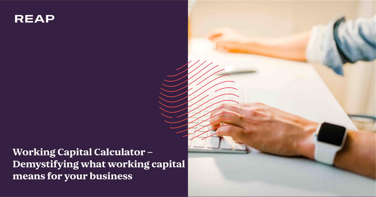 Cover Image for Working Capital Calculator – Demystifying what working capital means for your business