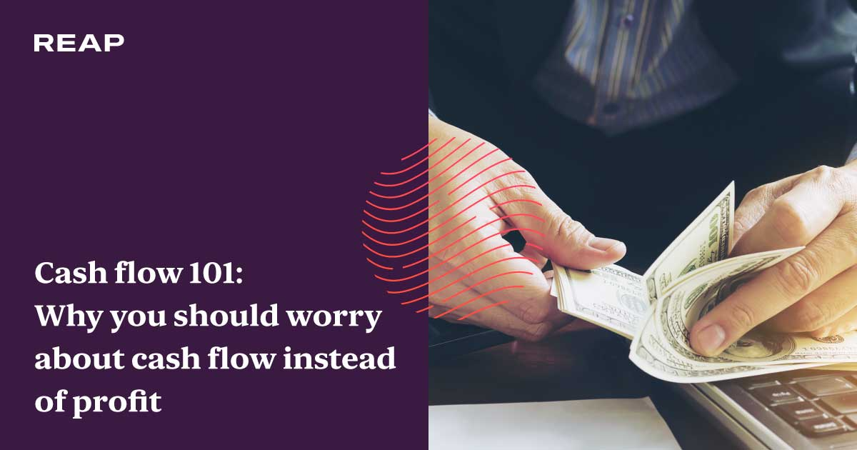 Cover Image for Cash flow 101: Why you should worry about cash flow instead of profit
