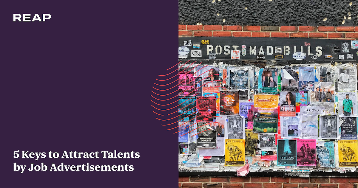 Cover Image for 5 Keys to Attract Talents by Job Advertisements