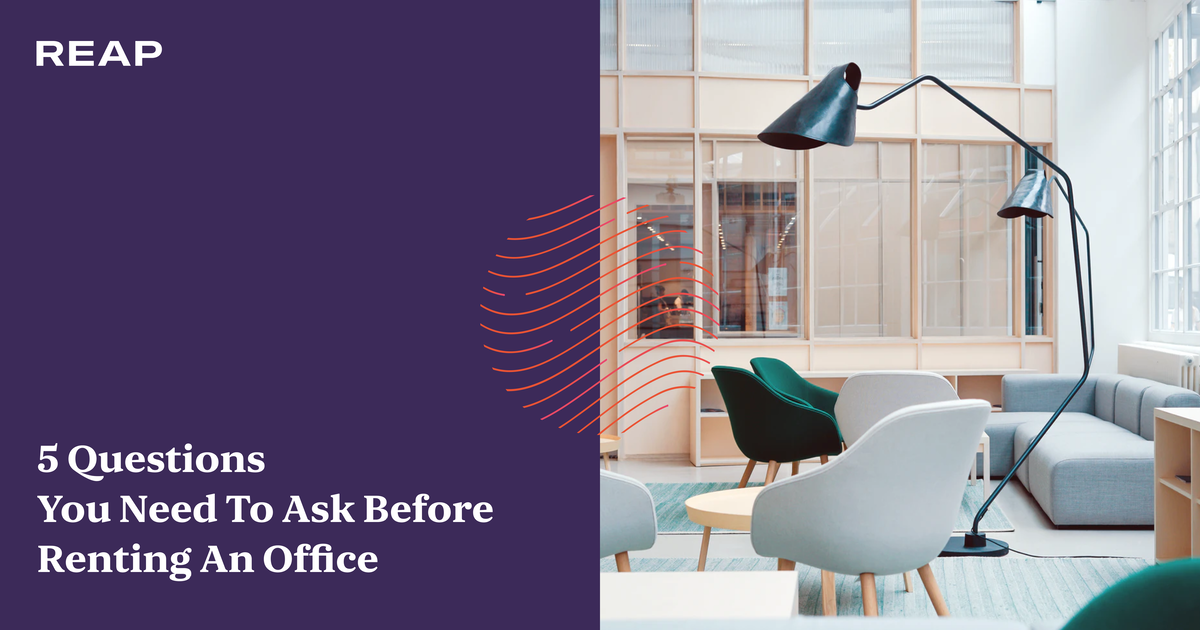 Cover Image for 5 questions you need to ask before renting an office