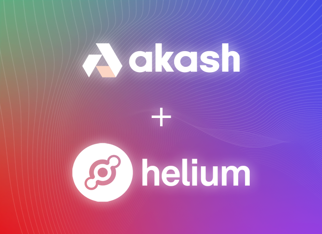 Akash Network Provides Decentralized Cloud to the Largest Internet of Things (IoT) Network, Helium
