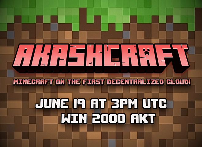 Akashcraft: Minecraft on the First Decentralized Cloud