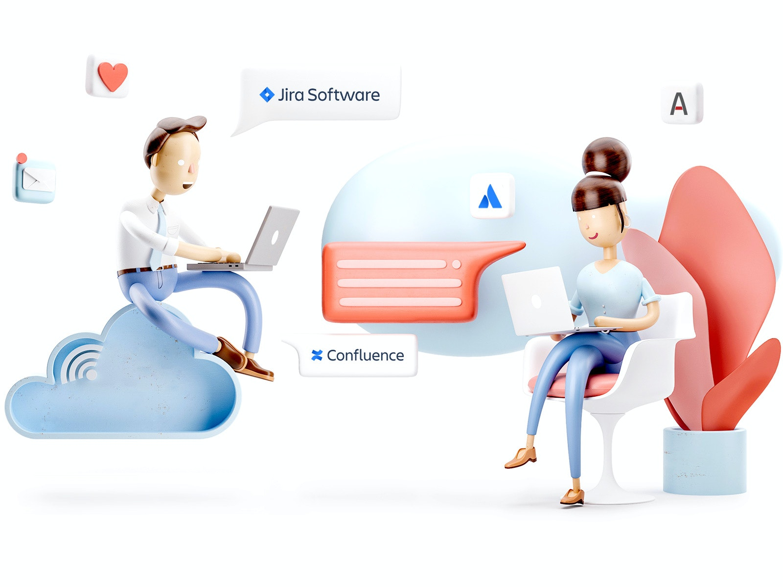 Atlassian hosting hero image