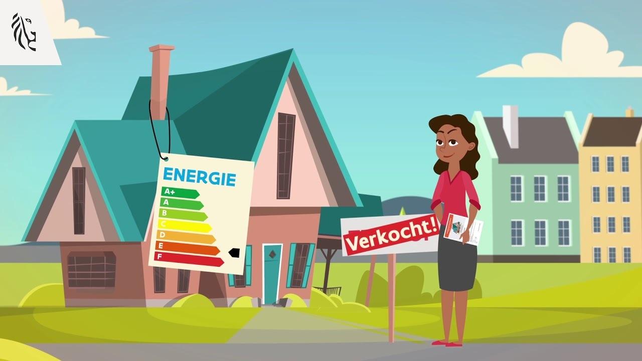 energie EPC label nieuwe woning