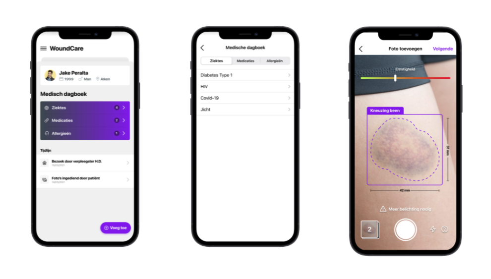 AI/AR app for healing people