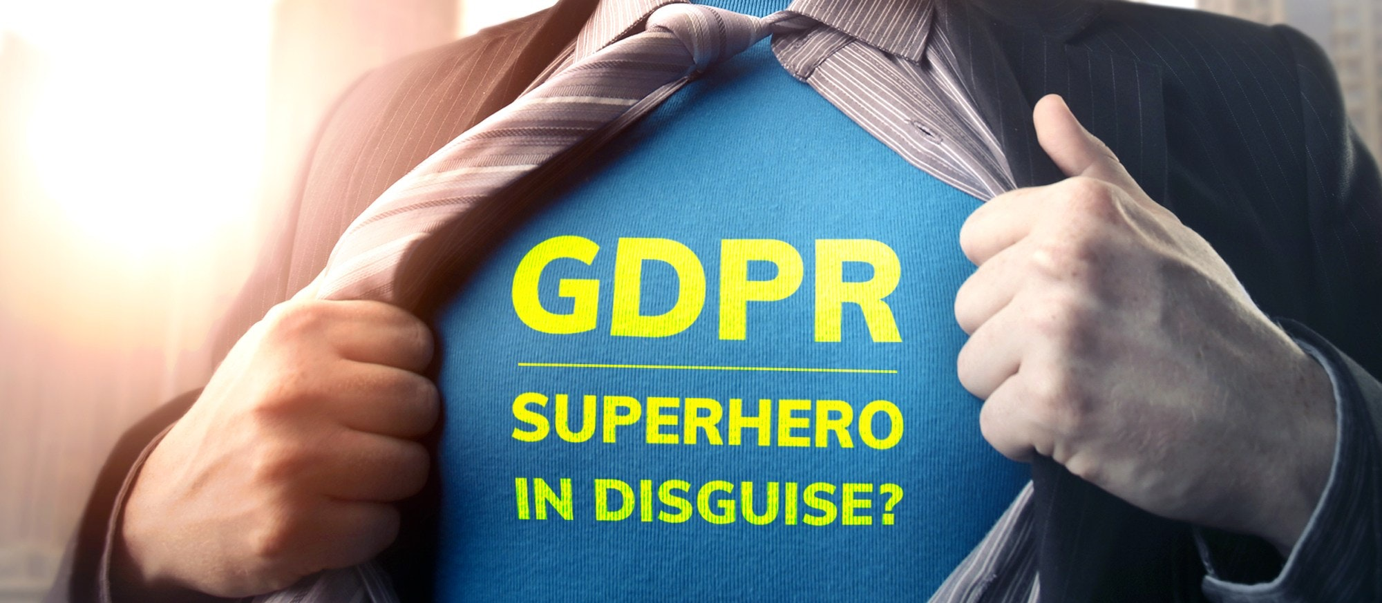 GDPR, the new superhero of marketing and sales