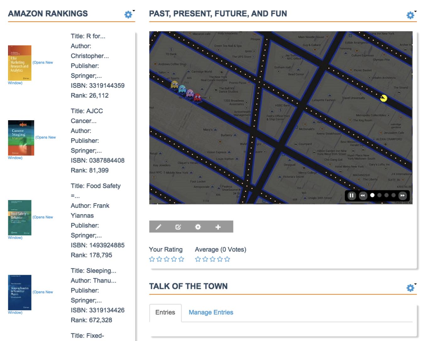 new interface for Springer