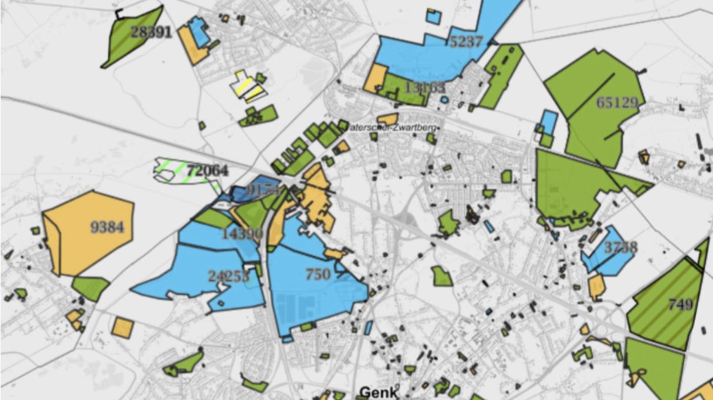 asbestos map OVAM