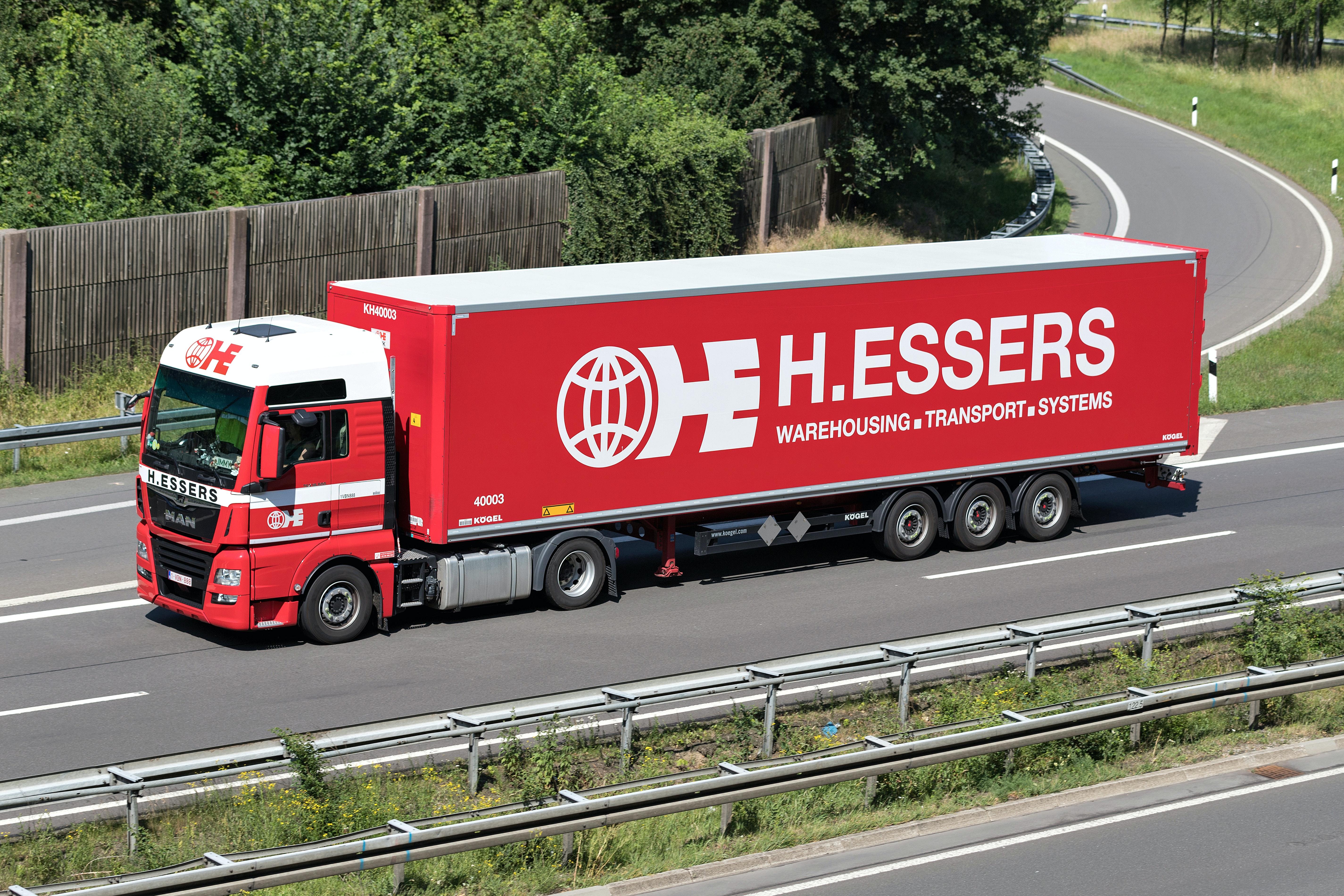 H.Essers transport truck