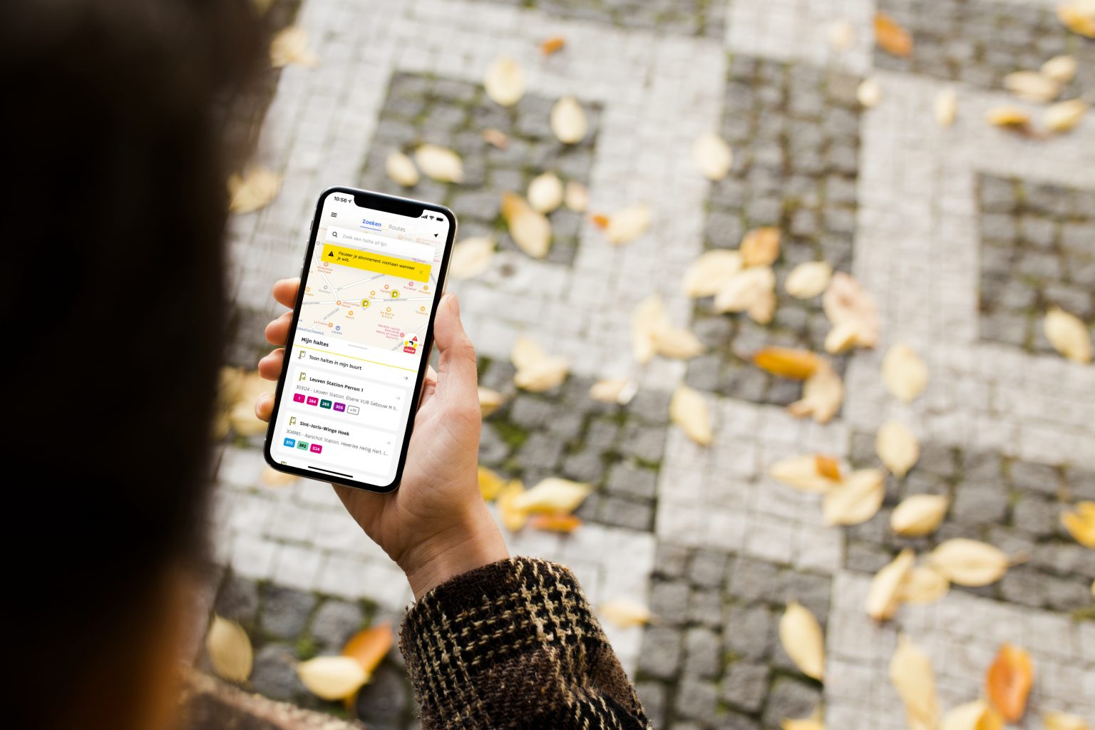 renewal of De Lijn's mobile app