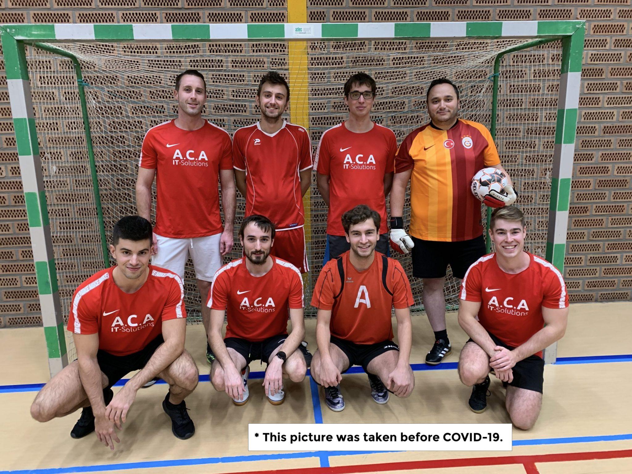 The ACA fusbal team