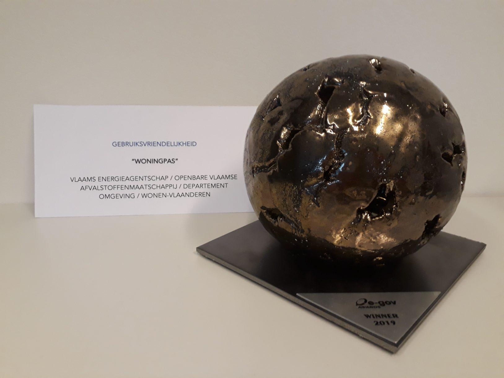 woningpas e-gov award