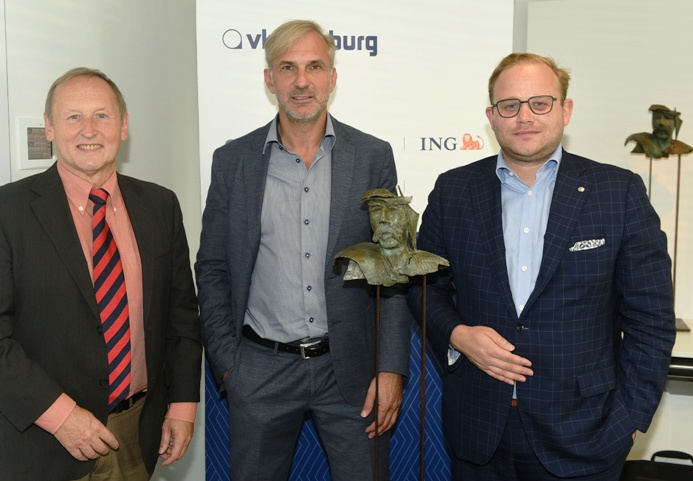 CEO Ronny Ruyters ACA Group and Ambiorix prize