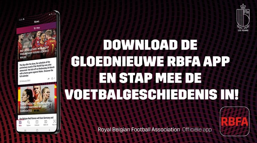 new RBFA mobile app