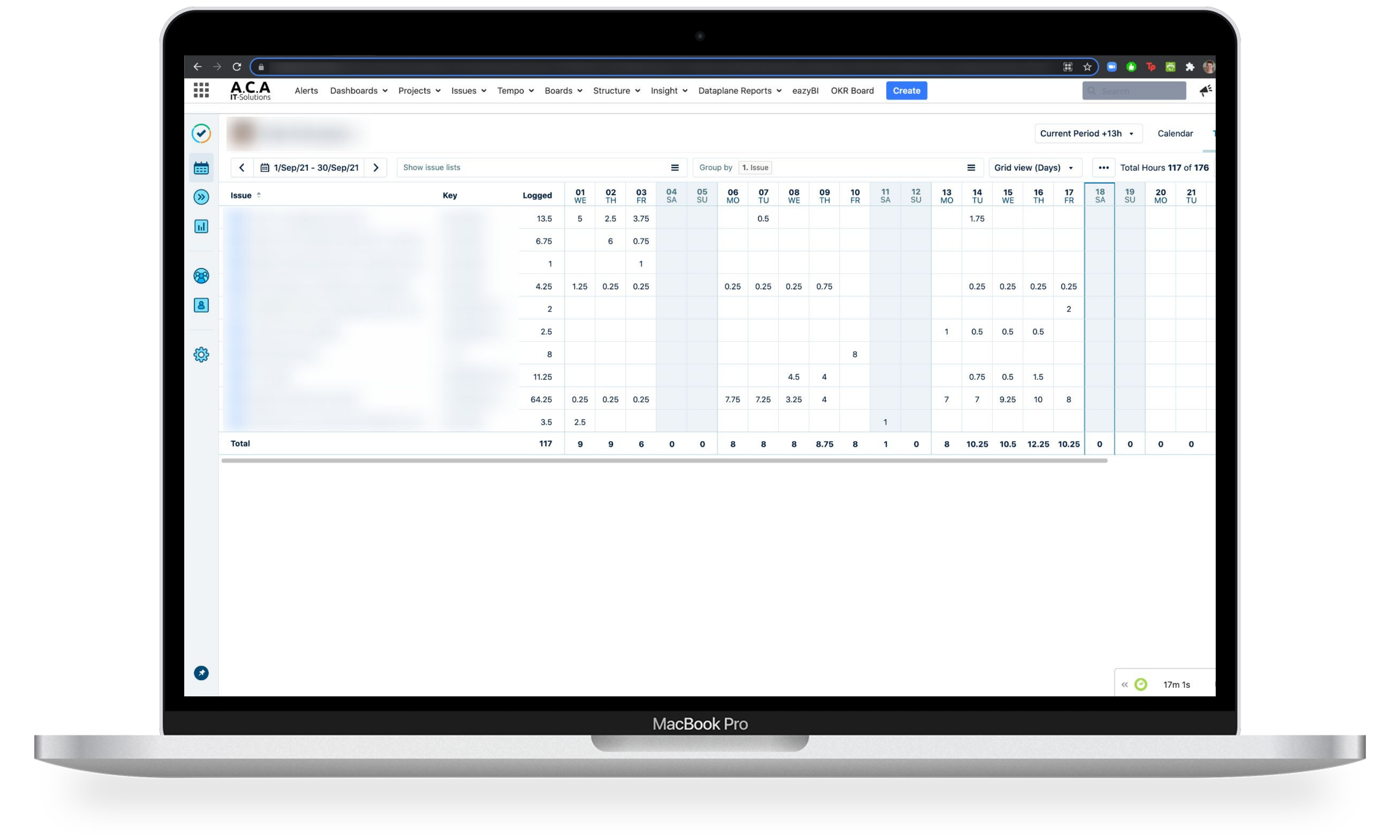 Billing and Invoicing with Jira add-on Tempo Timesheets